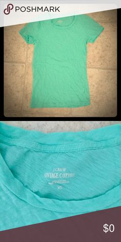 BOGO Gift- J Crew Tee Vintage cotton tissue tee from J Crew. Gently used, but no holes, stains or other flaws. Free gift with any other purchase. Indicate in the comments if you'd like it! J. Crew Tops Tees - Short Sleeve