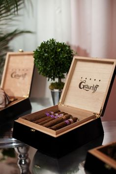 Maybe Merg could purchase the cigars in nice boxes like this. And then we could label them mild, medium and strong. ??