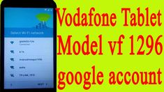 bypass google account vodafone tablet vf   vodafone tablet vf 1296 google account bypass Tp Link, Google Account, Accounting, Connection, Youtube, Top, Youtubers, Crop Shirt, Shirts