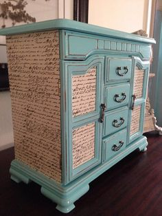 Vintage Large Jewelry Box Hand Painted And by ColorfulHomeDesigns, $98.00