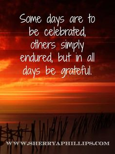 In all things be grateful! #Gratitude #Abundance #Faith