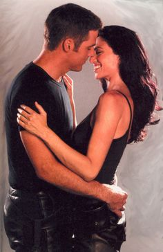 "Ben Browder and Claudia Black in ""Farscape"""