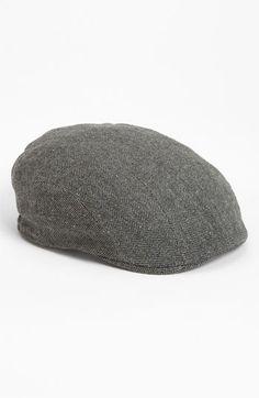 3081484285a37 Men s Stetson  Maddison  Driving Cap - Grey Gorra Boina