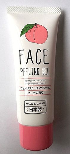 JAPAN Daiso Face Peeling Gel Scent of peach made in Japan cosmetics F/S #Daiso