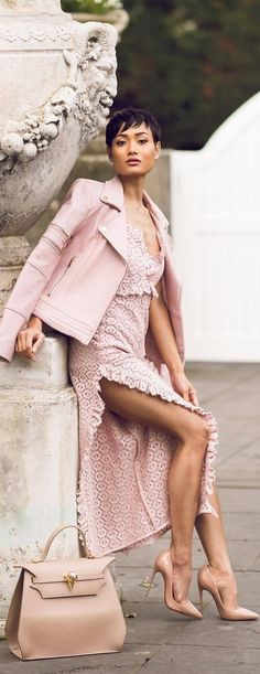 Channeling my softer, more feminine side / Fashion by Micah Gianneli
