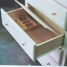 Ana white build a 36 corner base easy reach kitchen for Hidden jewelry drawer
