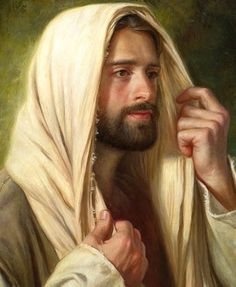 """John Not until halfway through the festival did Jesus go up to the temple courts and begin to teach. The Jews there were amazed and asked, """"How did this man get such learning without having been taught? Pictures Of Jesus Christ, Religious Pictures, Jesus Christ Painting, Lds Art, Jesus Face, In Christ Alone, Biblical Art, Holy Mary, Jesus Is Lord"""