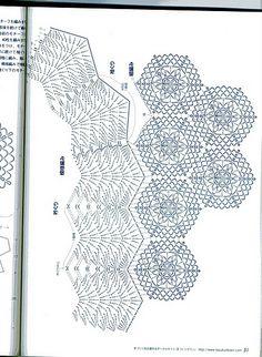 Crochet top modulare