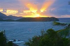 Magical sunrise over Ditleff Point and Rendezvous Bay (from Great Expectations)