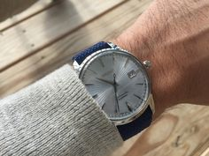 Post with 0 votes and 11665 views. [Seiko] Got my cocktail time on a blue perlon Seiko Mechanical Watch, Watch Deals, Seiko Presage, Special Deals, Fashion Watches, Omega Watch, Luxury, Accessories, Cocktail