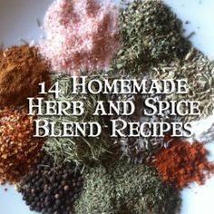14 Healthy Homemade Spice Blends