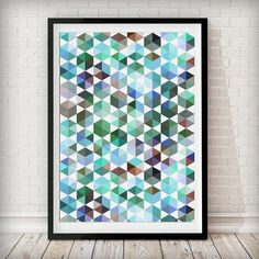 Abstract 2 Art Print This kaleidoscope print in an array of colors is perfect the perfect addition to any space! Please note our framed prints DO NOT Include a white border / mount / mat around the image.  We use Premium Quality Inkjet Heavyweight Satin Paper which gives a sharp, crisp, clear look to all of our artworks. Its heavier weight gives it that 'professional' feel. Please remember that computer monitors vary. Colors and contrast may slightly differ.There also might be a slight…