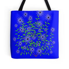 Violet Dahlia Design by Kat Worth Tote Bag