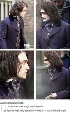 Daniel Radcliffe as Igor in Frankenstein...... I never thought Igor would be attractive!