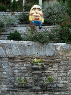 Weird, Wacky and Wild South: Humpty Dumpty lives in Eureka Springs, Arkansas
