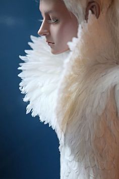 Feather meditation - Alexander McQueen | The House of Beccaria~