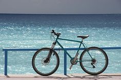 Freefoto has more than 1 million free photographs. Attribution and link back required. Free Use Images, Free Photos, Bicycle Pictures, Free Photographs, Digital Literacy, Travel Log, I Love The Beach, Bike Seat, Blue Beach