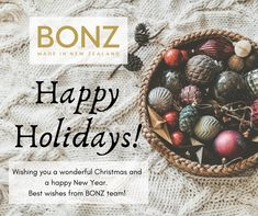 May your Christmas be filled with special moments, and your New Year with warmth, peace and happiness. Happy Holidays from BONZ team! Merry Christmas And Happy New Year, Happy Holidays, Home Goods, Christmas Bulbs, Happiness, Peace, In This Moment, Luxury, Holiday Decor
