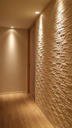 Home Room Design, Small House Design, Interior Design Videos, Sauna Design, Flur Design, Wall Cladding, House Rooms, Lighting Design, Interior Decorating