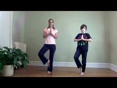 ▶ 5 Minute yoga break - Breath of Joy, Milkshake, 1 minute Tree Pose Challenge - YouTube