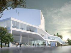 Mashouf Performing Arts Center at San Francisco State University / Michael Maltzan Architecture | ArchDaily