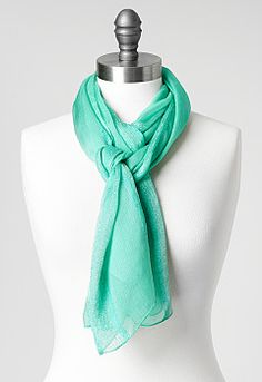 Gabby Sparkle Stripe Scarf, 9-0036042230, Gabby Sparkle Stripe Scarf Main View PGP