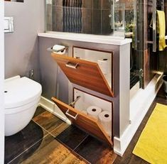 Small Bathroom Decorating Ideas is categorically important for your home. Whether you choose the Luxury Master Bathroom Ideas or Luxury Bathroom Master Baths Beautiful, you will create the best Luxury Bathroom Master Baths Paint Colors for your own life. Bathroom Toilets, Bathroom Renos, Laundry In Bathroom, Bathroom Ideas, Bathroom Layout, Bathroom Tapware, Restroom Ideas, Bathroom Floor Plans, Small Laundry