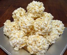 Sweet Popcorn Balls (made with Kettle corn) are perfect for at home or to sneak in at the movies!!