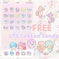 Kawaii World : Free Little Twin Star Cotton Candy
