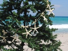 coastal christmas beach garland for Christmas Tree