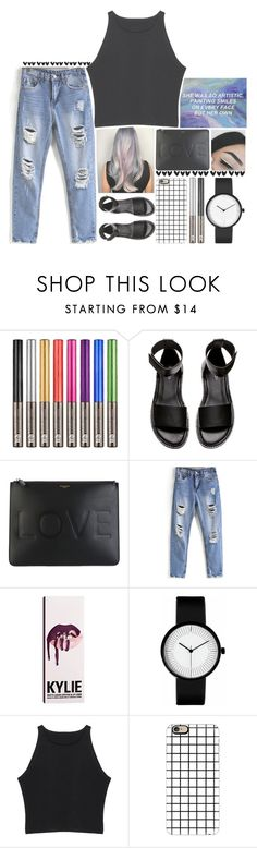 """💜  she was so artistic  💜"" by aliiiiison ❤ liked on Polyvore featuring Urban Decay, H&M, Givenchy, Kylie Cosmetics and Casetify"