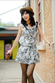 Chiffon Dress with Chain White (S10061001-1)http://www.clothing-dropship.com/chiffon-dress-with-chain-white-g1134334.html