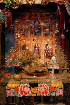 Oaxacan shrine