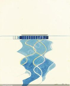 Study of Water in a Pool, 1966 | by David Hockney