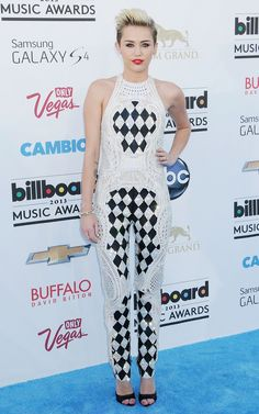 Miley Cyrus - Celebrity Fashion at the Billboard Music Awards 2013 in Las Vegas