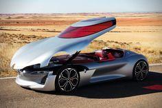 Futuristic Renault Trezor Concept