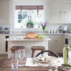 Küchen Küchenideen Küchengeräte Wohnideen Möbel Dekoration Decoration Living Idea Interiors home kitchen - Rustikale Wohnküche