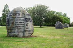 Listening Stones – GCHQ, Cheltenham, 2004 — Gordon Young