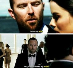That moment when you enjoy the assignment a little too much. Kurt Weller and Jane Doe #jeller #blindspot tumblr