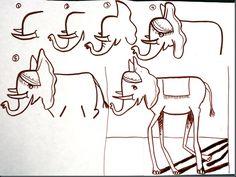 smART Class: Salvador Dali Elephants and Surrealistic Creatures