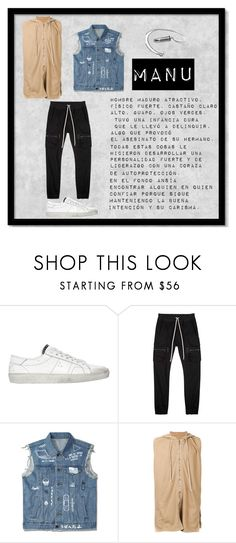 """""""manu"""" by ariane59852785 ❤ liked on Polyvore featuring Yves Saint Laurent, Rick Owens, DRKSHDW, men's fashion and menswear"""