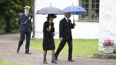 The Swedish Royal Family attended the funeral of Countess Alice Trolle-Wachtmeiste