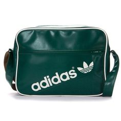 BN Adidas Originals AIRLINER PERF Messenger Shoulder Bag FOREST-CRAFTCANV  G84893 3d4c2de8f8783