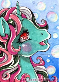 Another ACEO card starring Fizzy I used mostly watercolors but also some color pencils for the background. Size: x cm ACEO Fizzy My Little Pony Tattoo, My Little Pony Baby, Vintage My Little Pony, Pencil Sketch Drawing, Doodle Sketch, Doodle Art, Original My Little Pony, Magic Coins, Crystal Ponies
