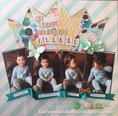 12x12 Scrapbooking Layout