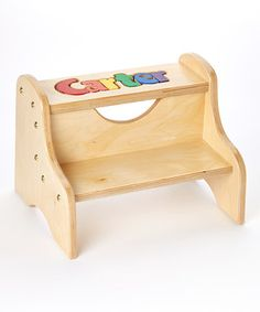 Primary Personalized Two Step Stool