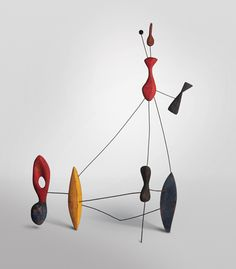 Alexander Calder, Constellation with Two Pins, 1943