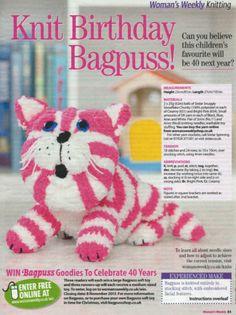 BAGPUSS KNITTING PATTERN DK | eBay