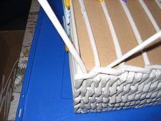 Pletení z papíru II. - vypletené hranaté dno - Tvoření pro radost a potěšení Diy And Crafts, Upcycle