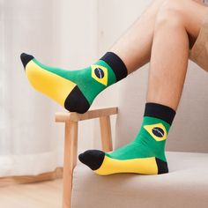 Cheap socks sell, Buy Quality socks men white directly from China men high socks Suppliers:  Hot Brand Flag Cotton Men socks set   Note: A lot include 5 colors.If you want to change colors,do please leave your me